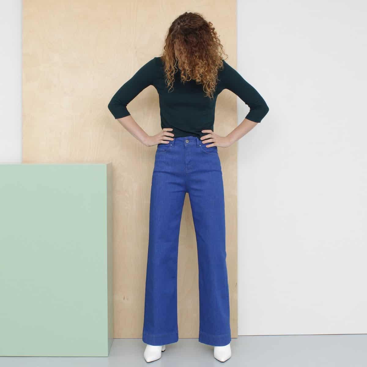 Duurzame spijkerbroeken merken Joline Jolink