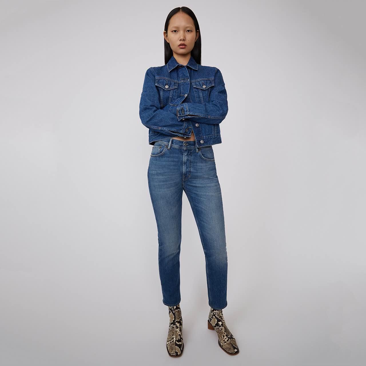 Duurzame spijkerbroeken merken Acne Studios